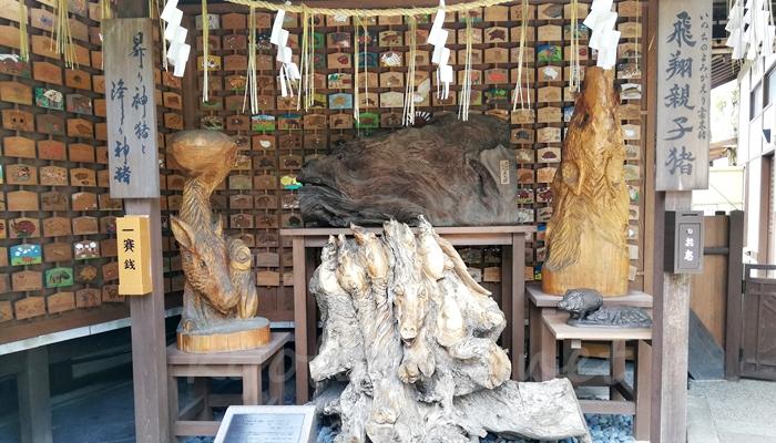 京都の猪神社 護王神社