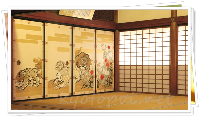 天龍寺の襖絵