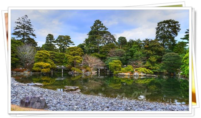 京都御所の御池庭