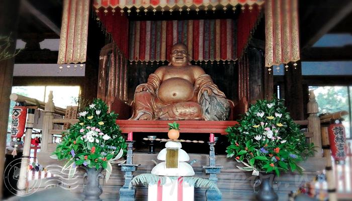 京都七福神めぐり 萬福寺の布袋尊