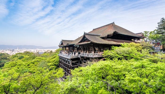 京都の世界遺産 清水寺の本堂