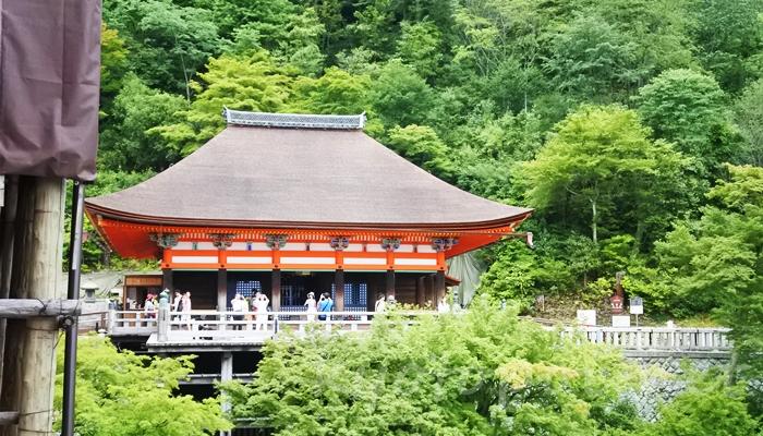 京都の世界遺産 清水寺の奥の院