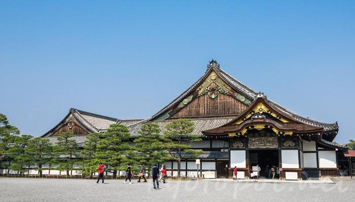 京都の世界遺産 二条城の二の丸御殿