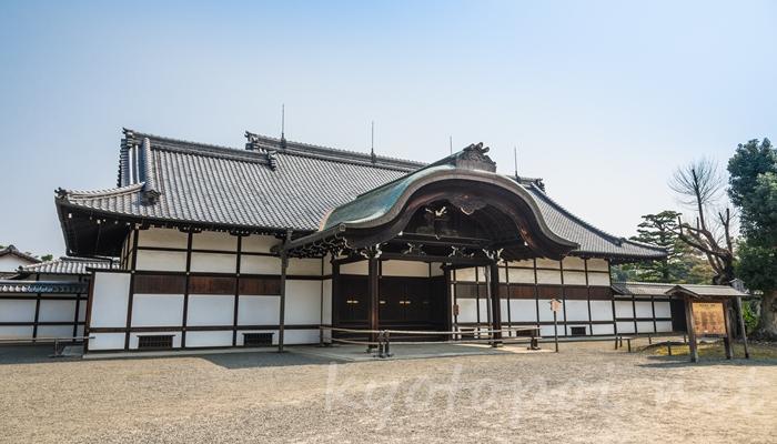 京都の世界遺産 二条城の本丸御殿