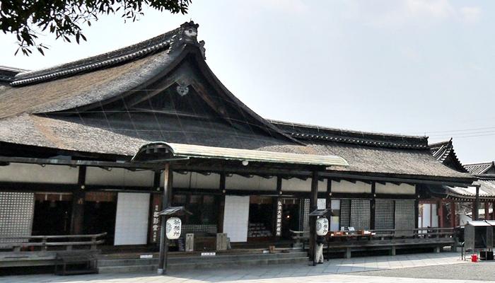 京都の世界遺産 東寺(教王護国寺)の御影堂(大師堂)
