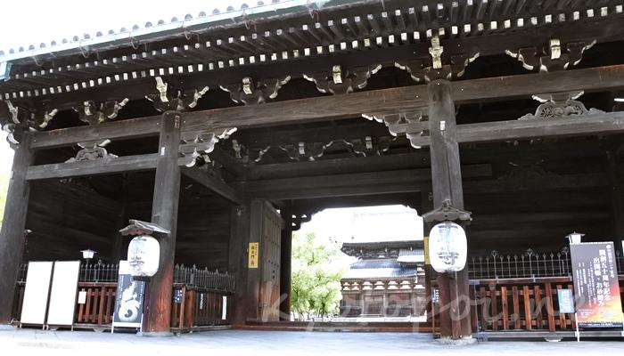 京都の世界遺産 東寺(教王護国寺)の南大門