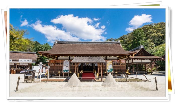 上賀茂神社の立砂(たてずな)