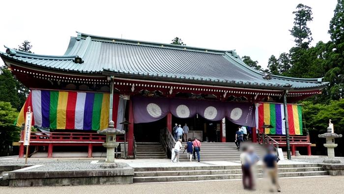 京都の世界遺産 比叡山延暦寺の大講堂