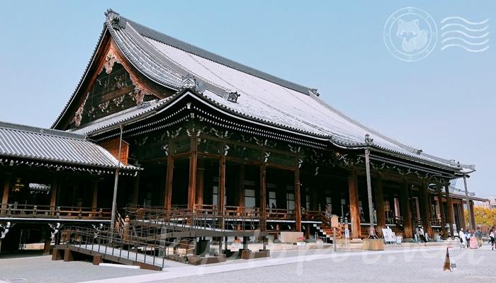京都の世界遺産 西本願寺の阿弥陀堂