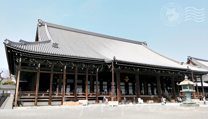 京都の世界遺産 西本願寺の御影堂