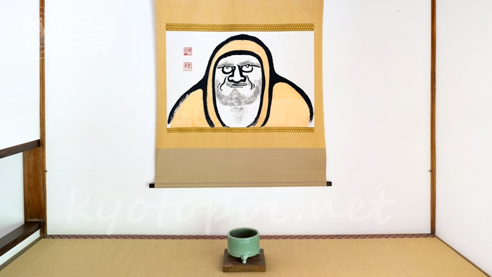 京都の世界遺産 天龍寺の達磨絵