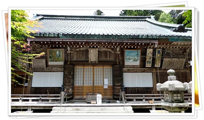 京都の世界遺産 比叡山延暦寺の四季講堂(元三大師堂)