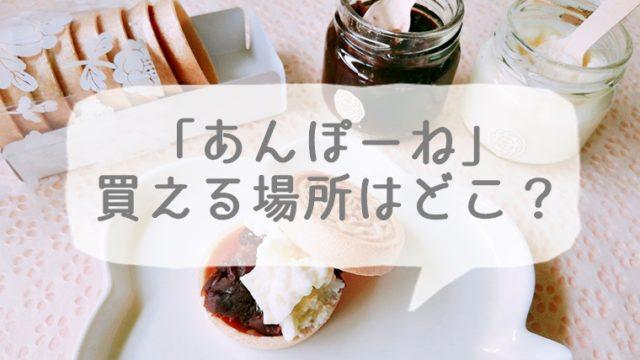 京都のお土産あんぽーねが買える場所