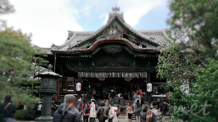 京都の革堂(行願寺)本堂