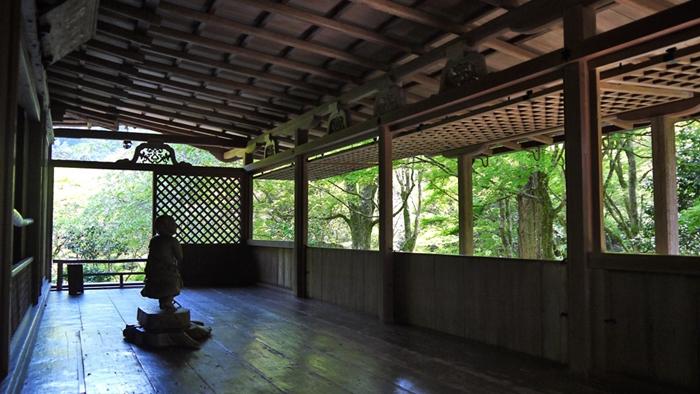 京都の世界遺産 高山寺の石水院