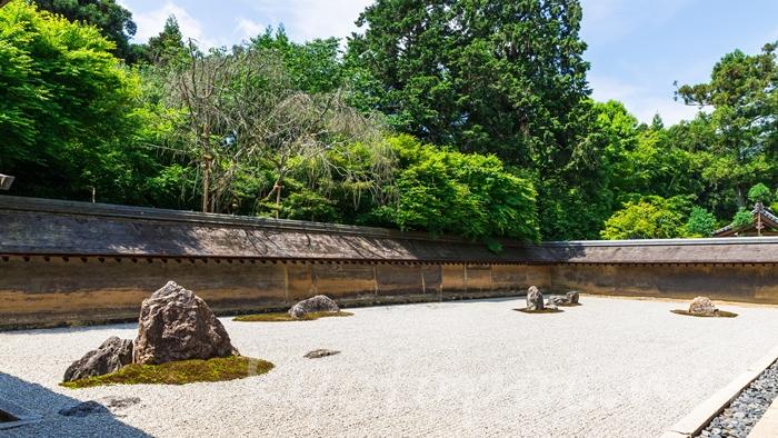 京都の世界遺産 龍安寺の石庭
