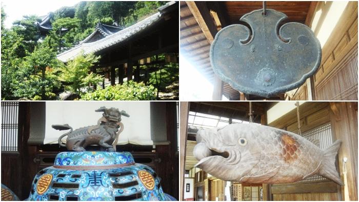 京都の宇治にある萬福寺 中国明朝様式の伽羅