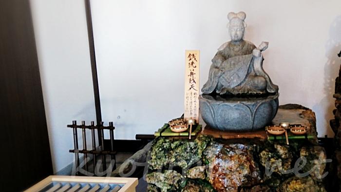 六波羅蜜寺の銭洗い弁財天