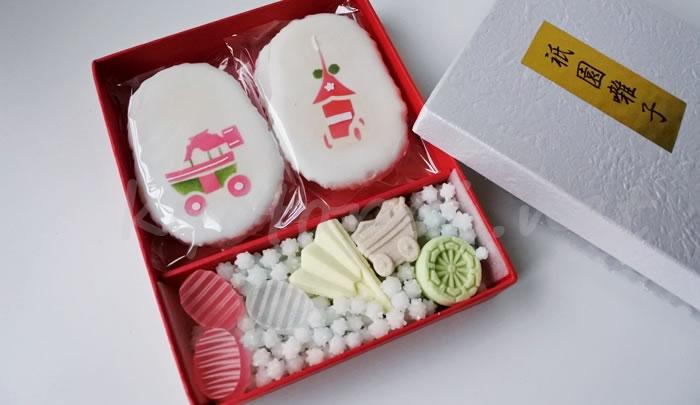 祇園祭のお菓子 俵屋吉富の祇園囃子
