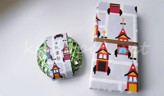 祇園祭のお菓子 亀屋良長の京半月と干菓子