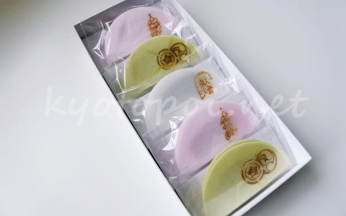 祇園祭のお菓子 亀屋良長の京半月