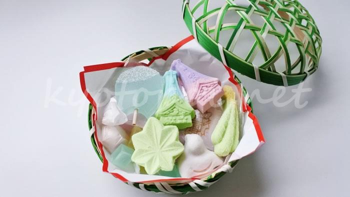 祇園祭のお菓子 亀屋良長の干菓子