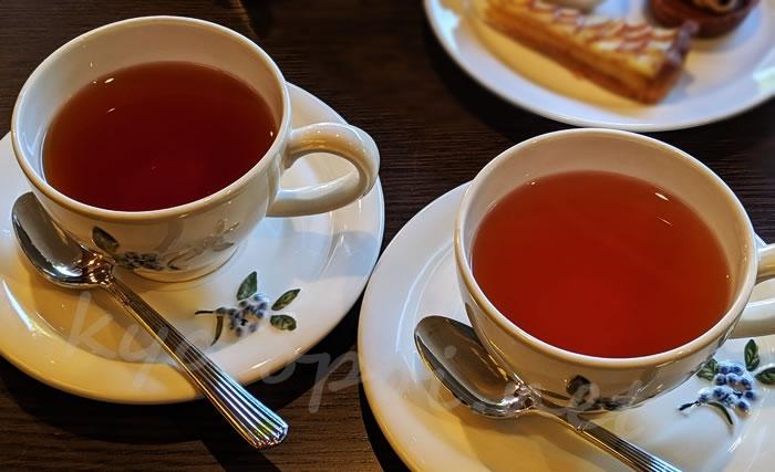 南禅寺菊水のアフタヌーンティー ロンネフェルトの紅茶