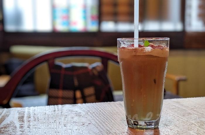京都のカフェ1001 ミントティラミスオレ