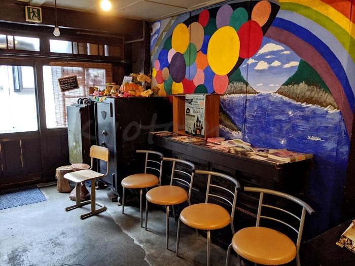 京都のカフェ1001 店内の様子