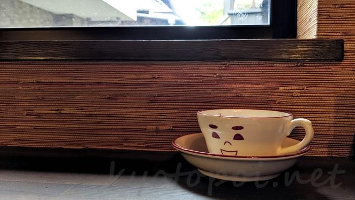 京都祇園のカフェオパール 店内