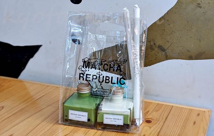 抹茶共和国(Matcha Republic)のタピオカ バブル抹茶ラテ(小瓶ボトル)