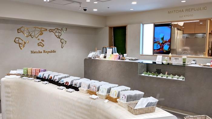 抹茶共和国(Matcha Republic)の京都タワーサンド店
