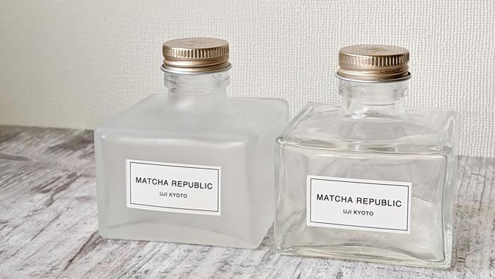 抹茶共和国(Matcha Republic)の小瓶ボトル