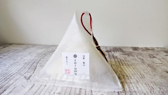 京都の綿菓子専門店zarameの鬼きなこ