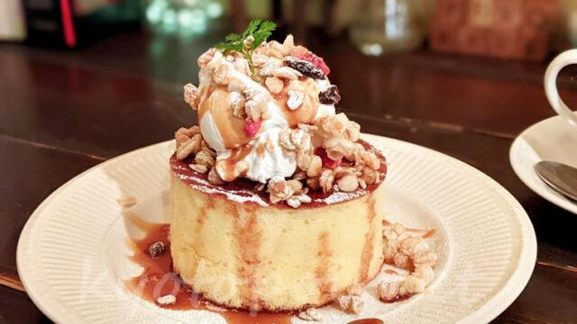 京都祇園のカフェ ブルーファーツリー 幻のホットケーキ