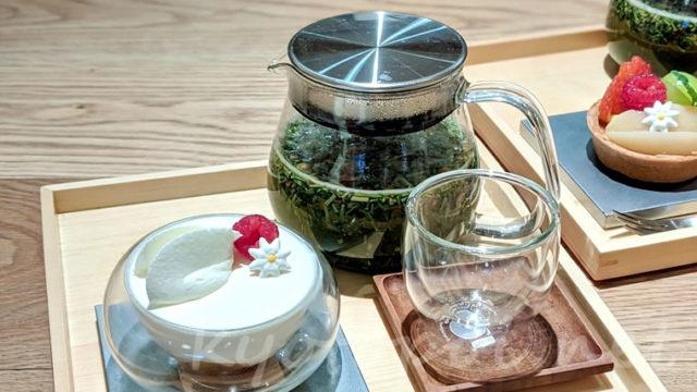 茶寮FUKUCHAのお茶とスイーツ