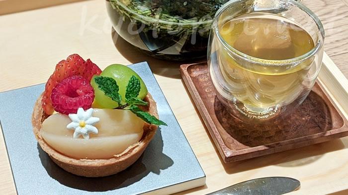 茶寮FUKUCHAのフルーツタルト
