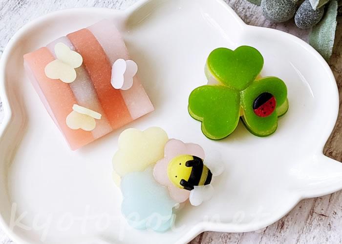 ニキニキ2020年5月の生菓子(生八ツ橋)