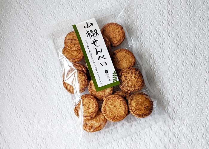 京都 伊藤軒の「山椒せんべい」
