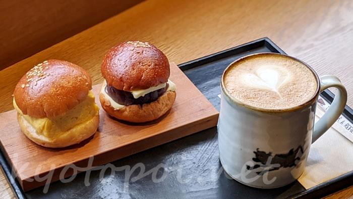 knot cafe(ノットカフェ)の「だし巻きサンド」「あんバターサンド」