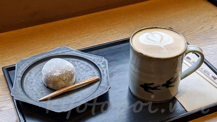 knot cafe(ノットカフェ)のチョコレート大福