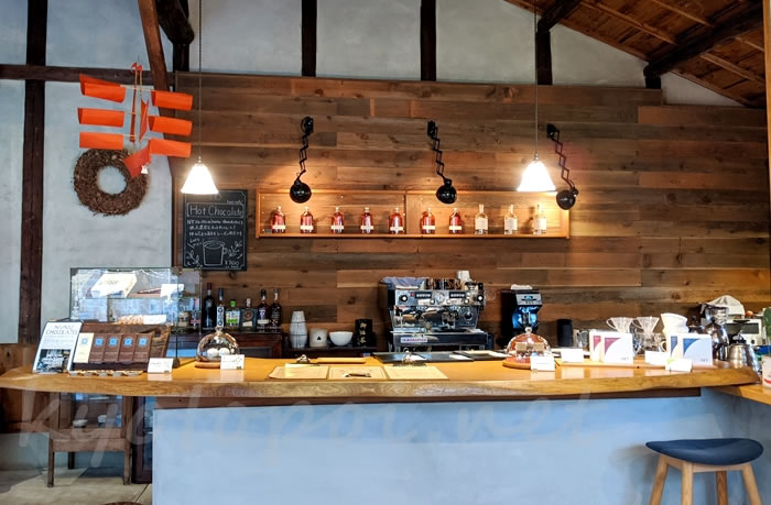 京都knot cafe(ノットカフェ)の店内