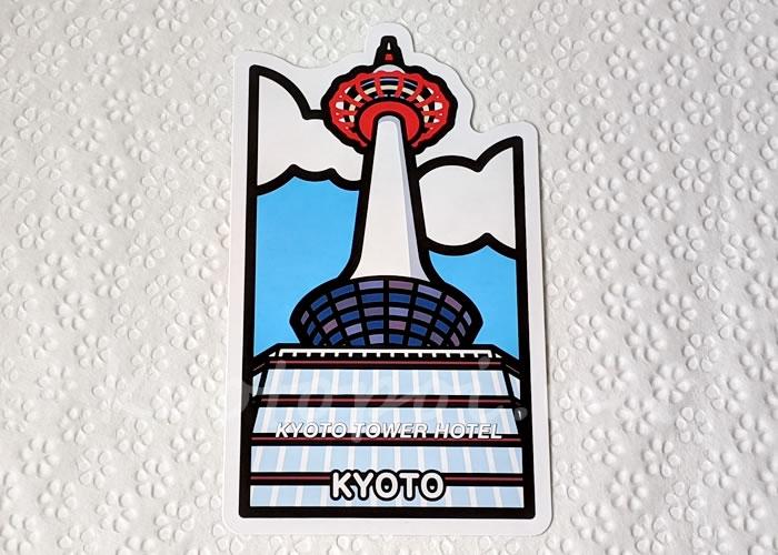 京都ご当地フォルムカード(ポストカード) 京都タワー