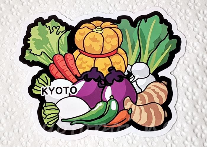 京都ご当地フォルムカード(ポストカード) 京野菜