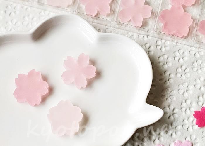 鶴屋吉信IRODORIの桜琥珀糖