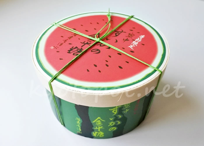 京都 緑寿庵清水の金平糖「空中スイカ」