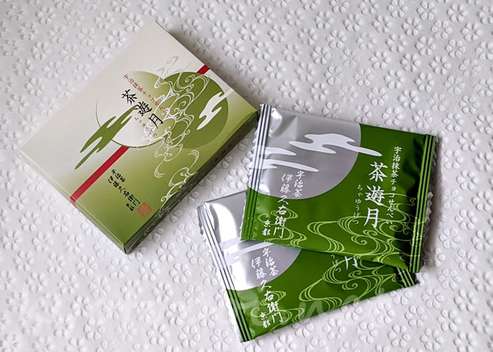 伊藤久右衛門の宇治抹茶チョコせんべい 茶遊月