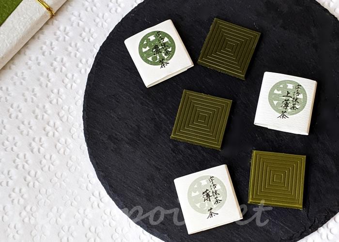 伊藤久右衛門の宇治抹茶チョコレート まっちゃ綴り