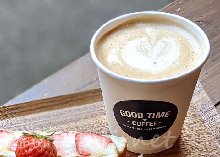 京都GOOD TIME COFFEE(グッドタイムコーヒー)ソイラテ
