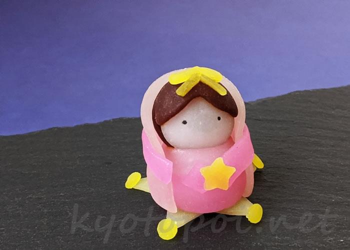ニキニキ季節の生菓子 2020年7月の織姫